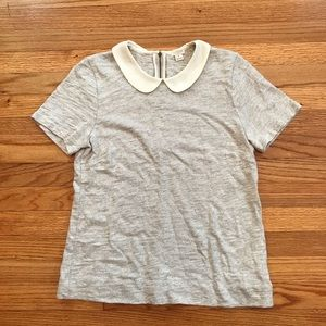 J. Crew Collared Blouse Womens Medium
